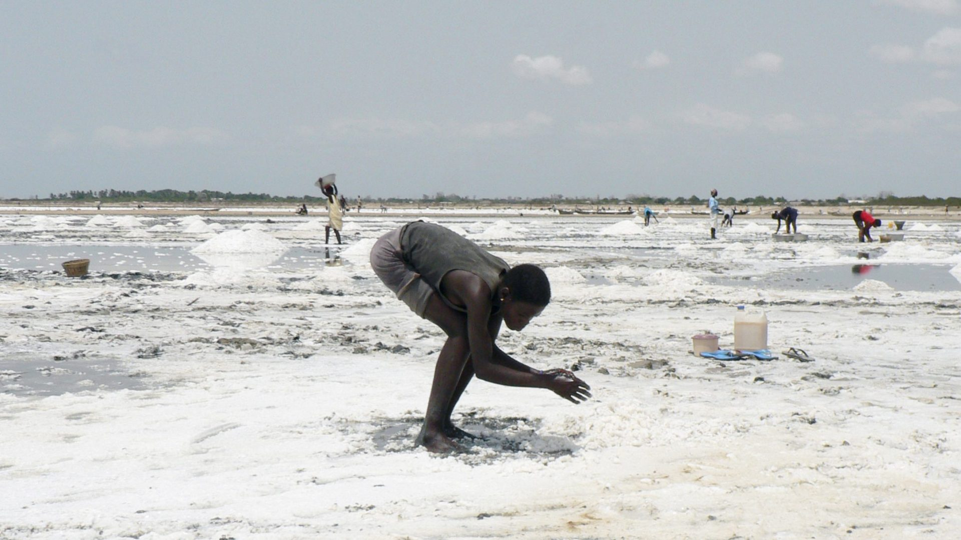 SALT HARVESTERS of Ghana